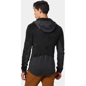 Mountain Hardwear Monkey Grid Hooded Jacket Herre black